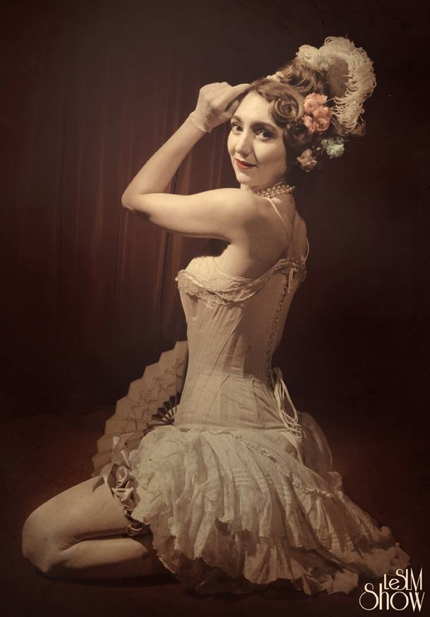 Sucre D Orge French Burlesque Dancer
