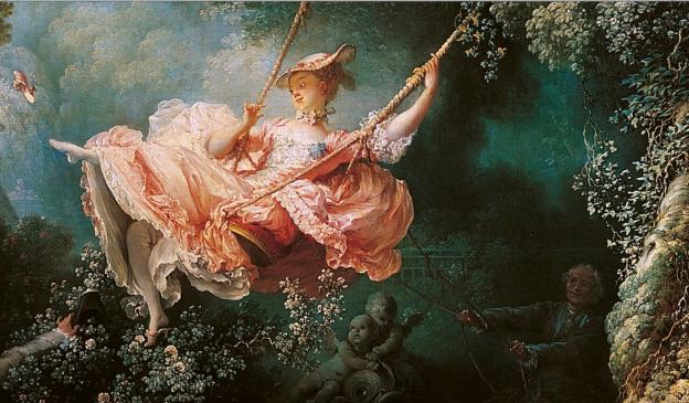 Labalançoire - Fragonard, 1767