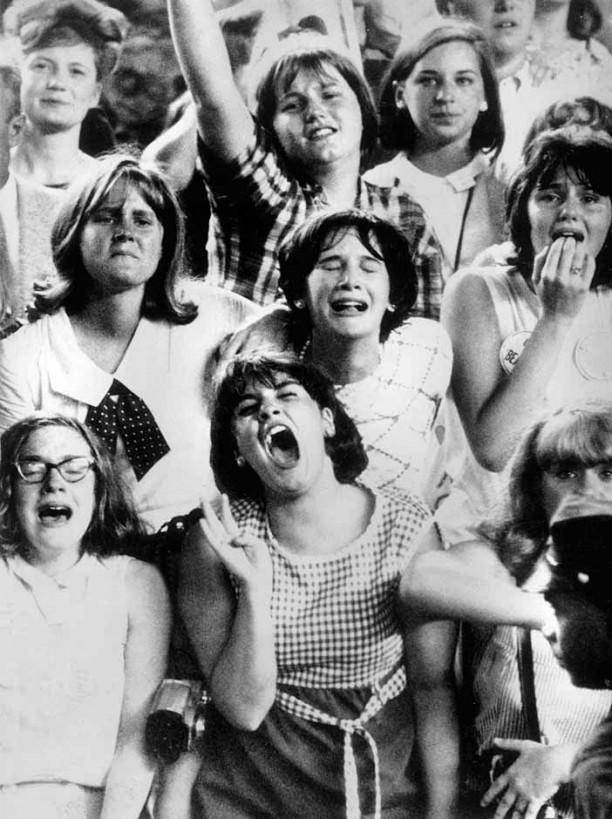 Le public déchaîné des Beatles