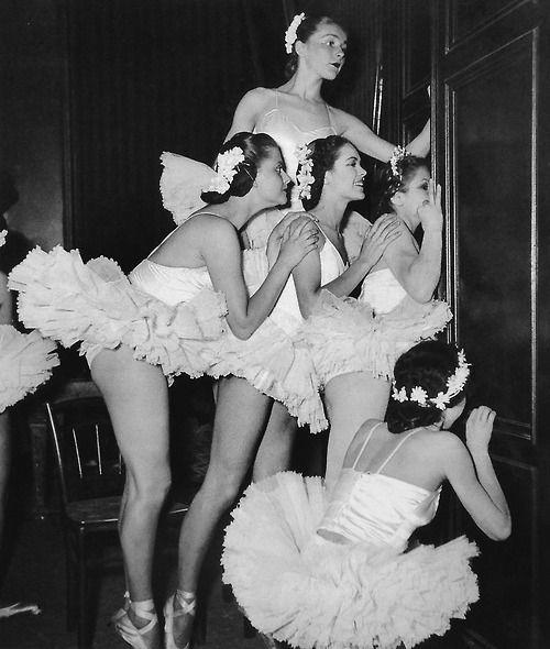 Paris Conservatory 1948 Photo: Anonymous