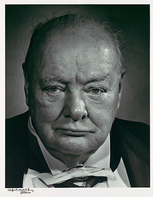 Le sourcil broussailleux deW. Churchill