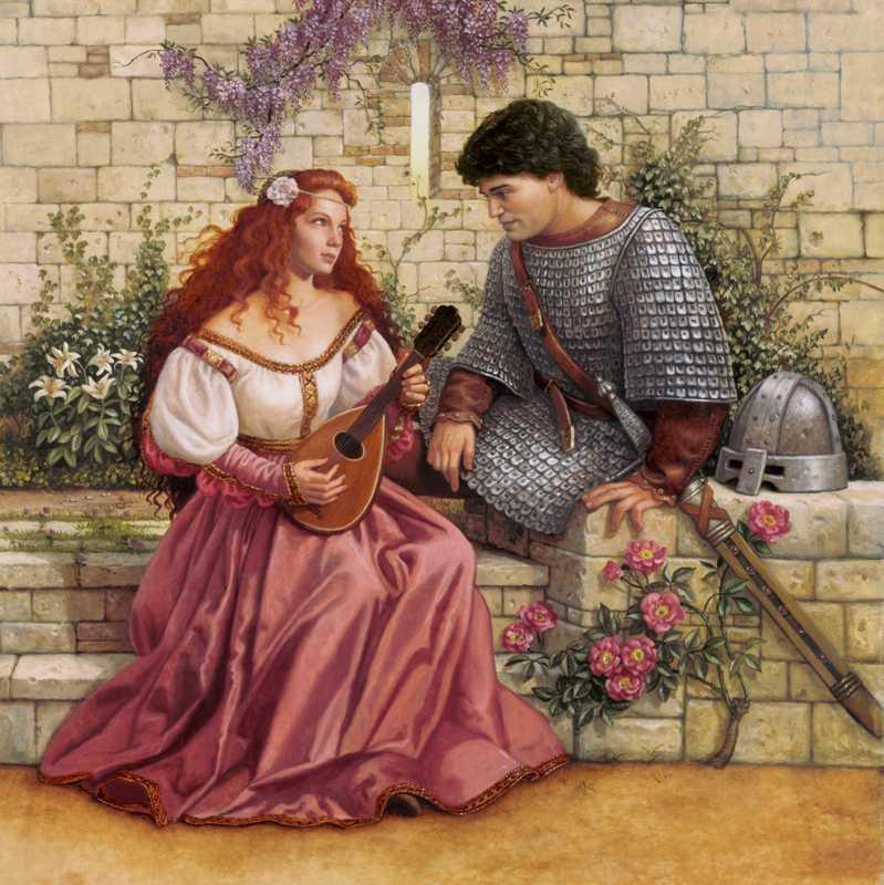 Guenièvre et Lancelot, Ruth Anderson