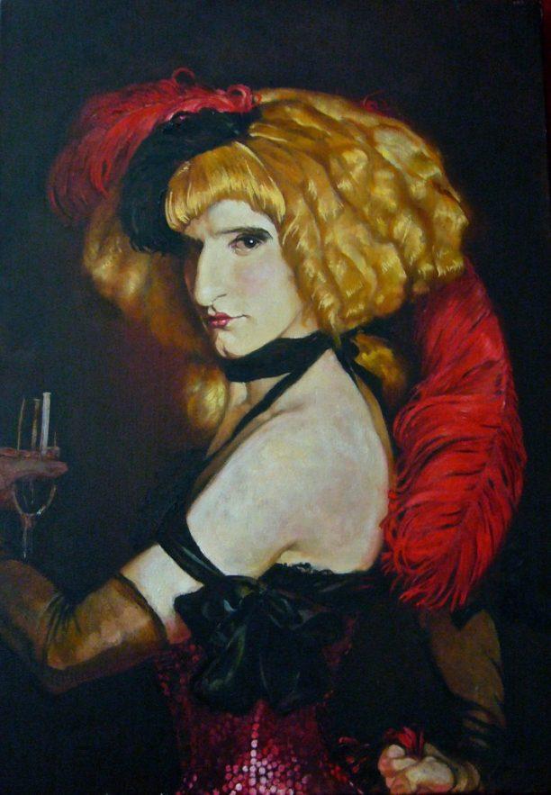 Portrait d'Isadorra Gamberetti peint par Sorrel Smith